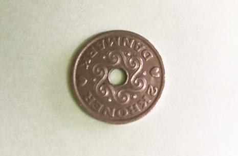 ハートマークで人気 デンマークのクローネコイン